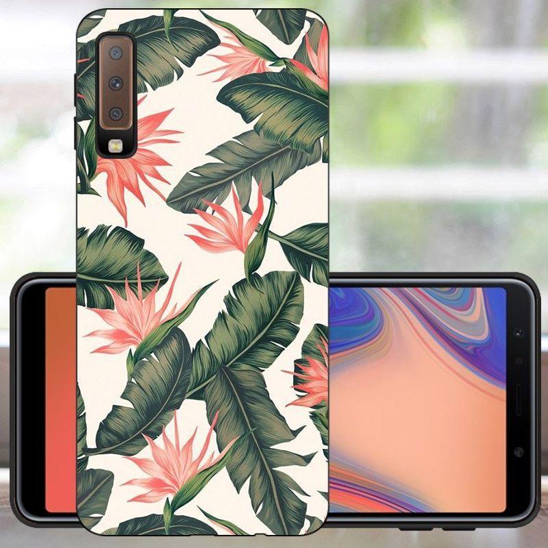 Fanatu For Funda Samsung Galaxy A7 2018 Phone Case Sfor Samsung A7 2018 Silicon Case Bumper For Cute Phone Cases Phone Cases Silicon Case