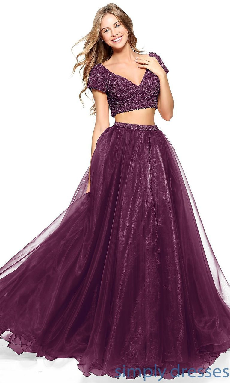 36 Purple Prom Dresses Fit for a Prom Queen | Dark purple ...