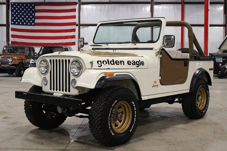 78 Jeep Cj7 Golden Eagle Jeep Cj Jeep Cj7 Jeep Cj5