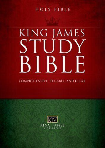 The Holy Bible King James Study Bible Kjv By Thomas Nelson Http Www Amazon Com Dp B006cq8hb0 Ref Cm Sw R P Kjv Study Bible Bible Study Bible Translations