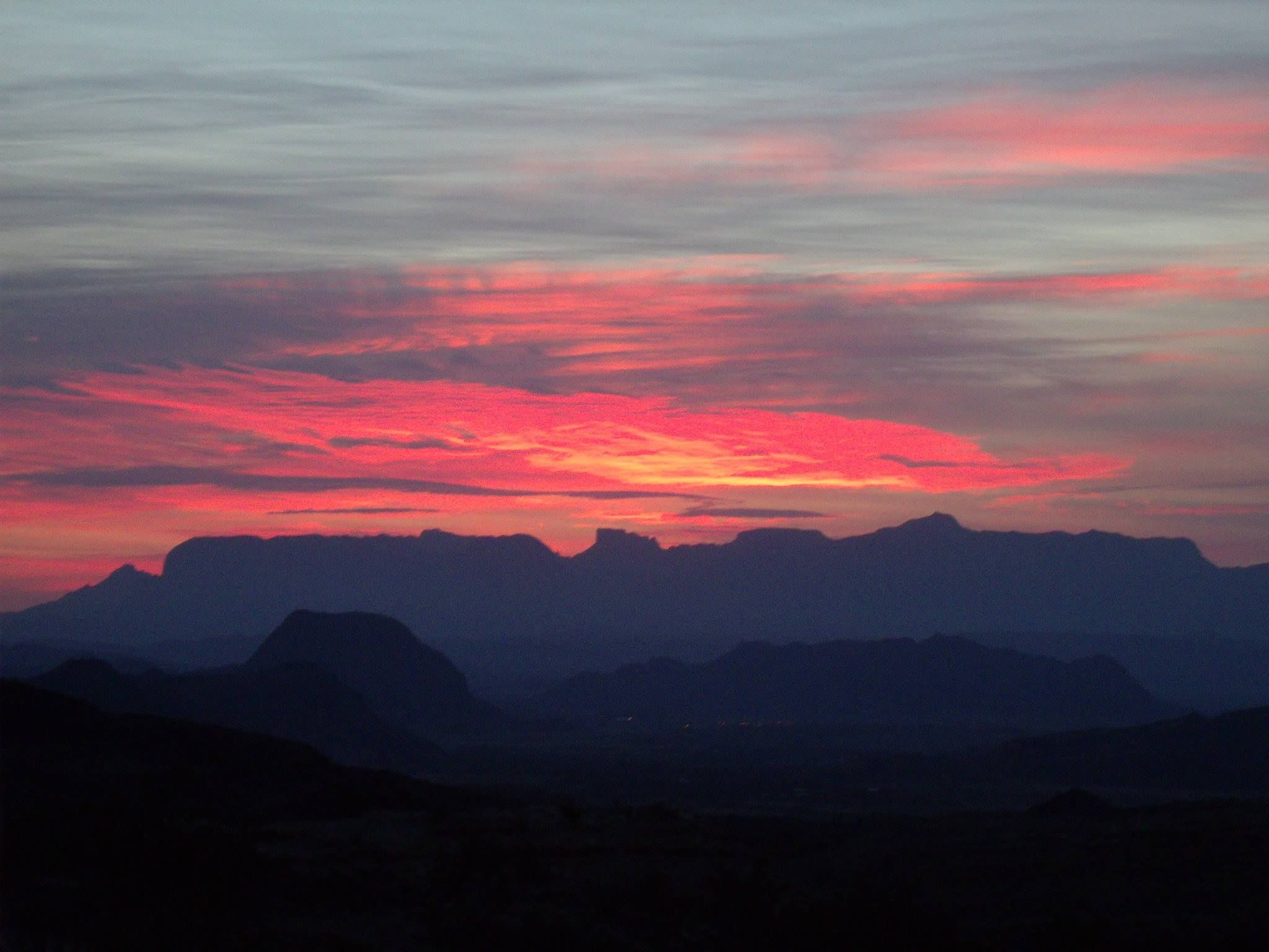 Sunset over Big Bend National Park by Jon Peacock