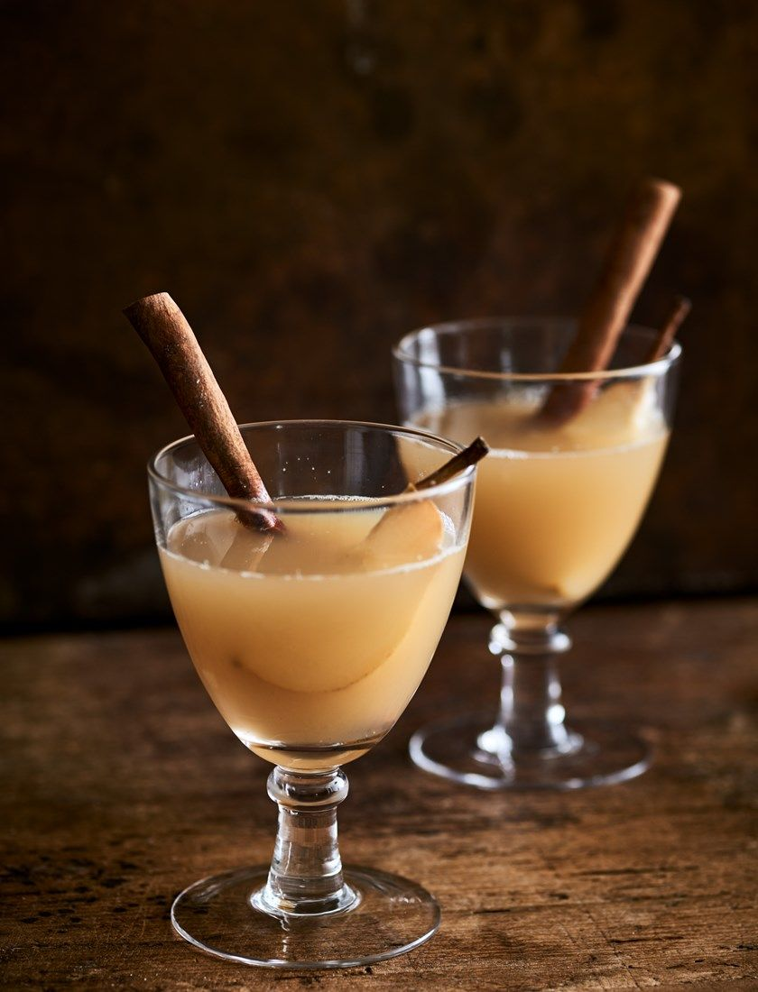 A Bonfire Night supper: mulled pear & ginger | Neptune #bonfirenightfood