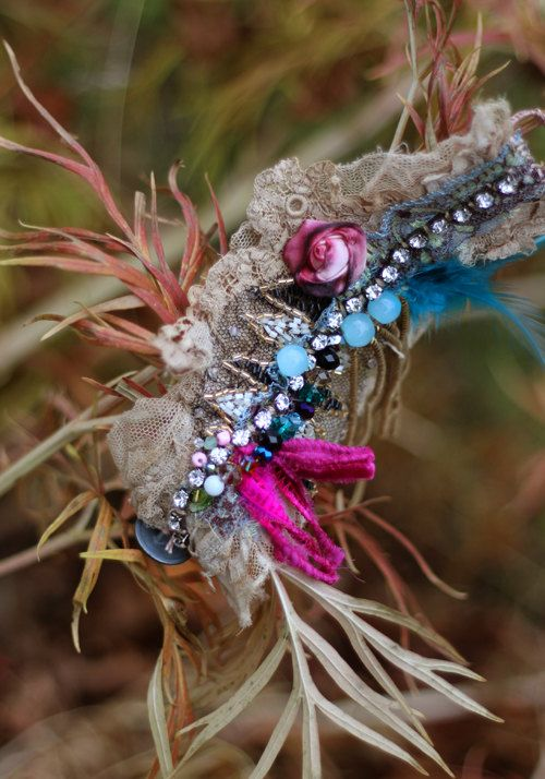 Abrigo de pulsera Boho romántico encaje antiguo por FleursBoheme