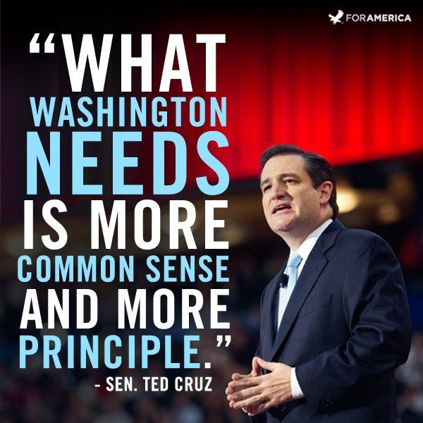 Ted Cruz Quotes New Senator Ted Cruz Defender Of Liberty TED CRUZ FOR 48 And For