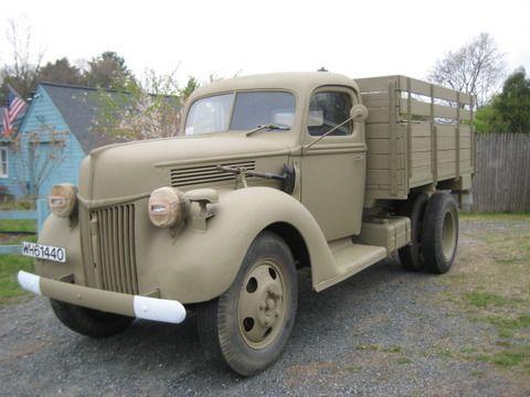 Ford V 3000s Military Vehicles Ford Trucks Vehicles