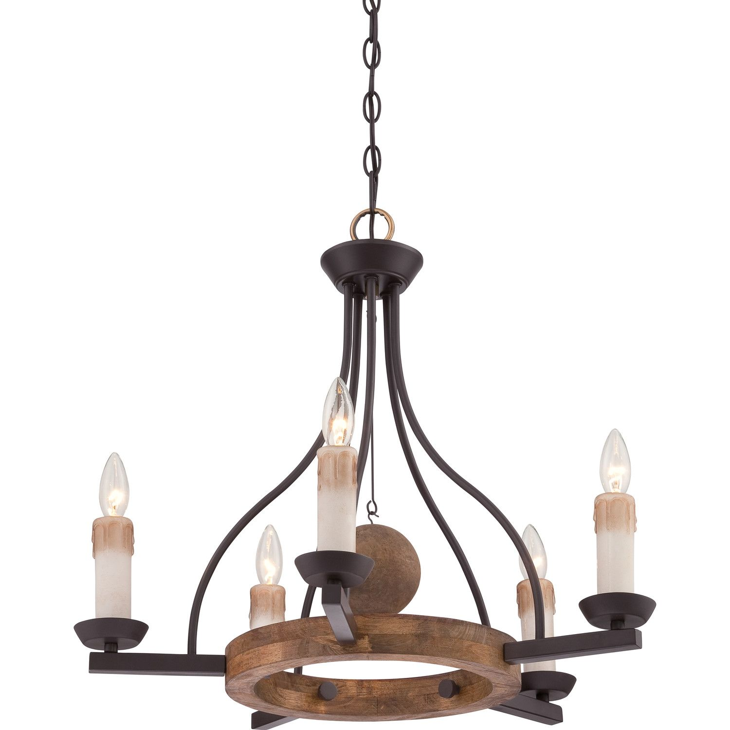 fascinating Wildon Home Chandelier Part - 15: Wildon Home ® Corra 5 Light Candle Chandelier