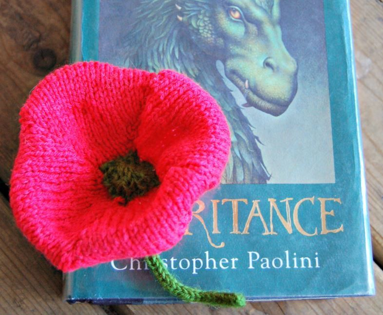 How to Knit a Flower: Poppy | Flower, Knitted flowers and Crochet