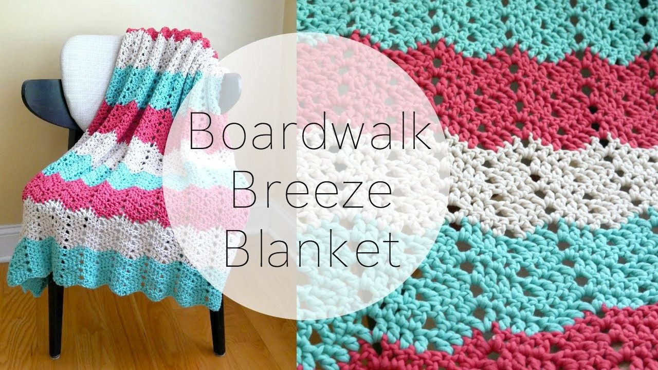 How To Crochet the Boardwalk Breeze Blanket, Episode 324 | Crochet ...