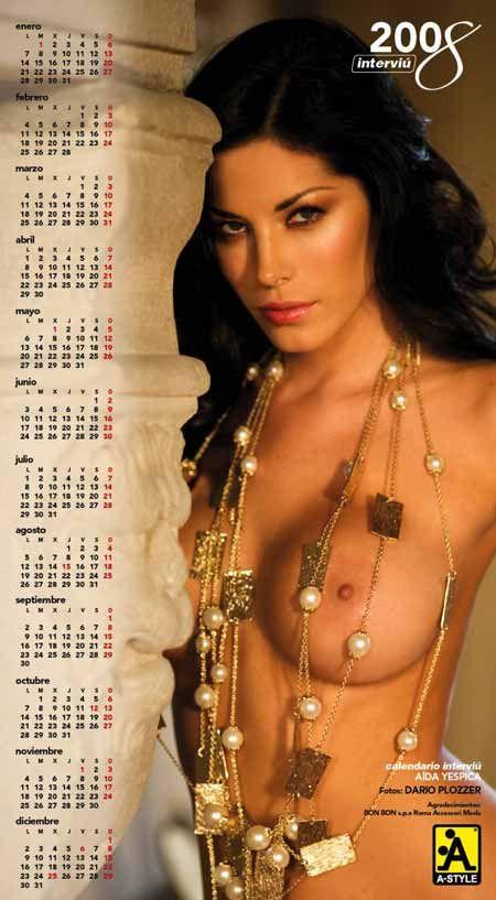 Calendario Aida Yespica.Pin On Supermodel