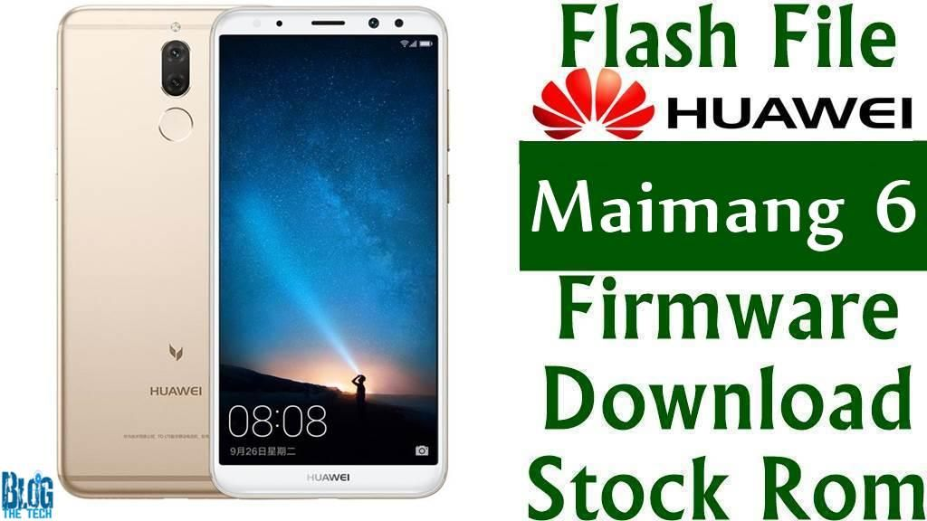 Flash File] Huawei Maimang 6 RNE-AL00 Firmware Download