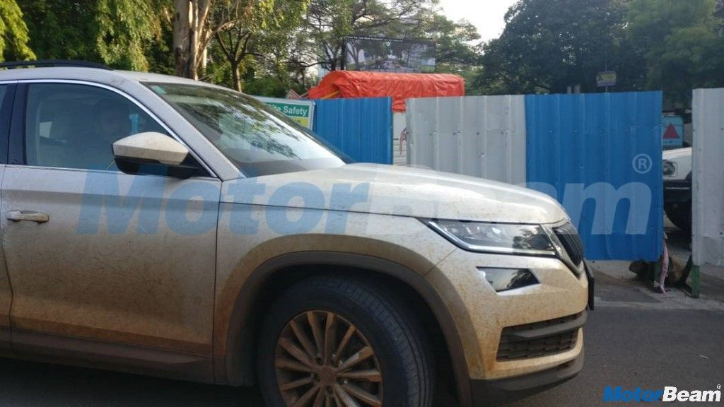 Skoda Kodiaq Spied On Test Yet Again In India Motorbeam Skoda Kodiaq Skoda Automotive Industry