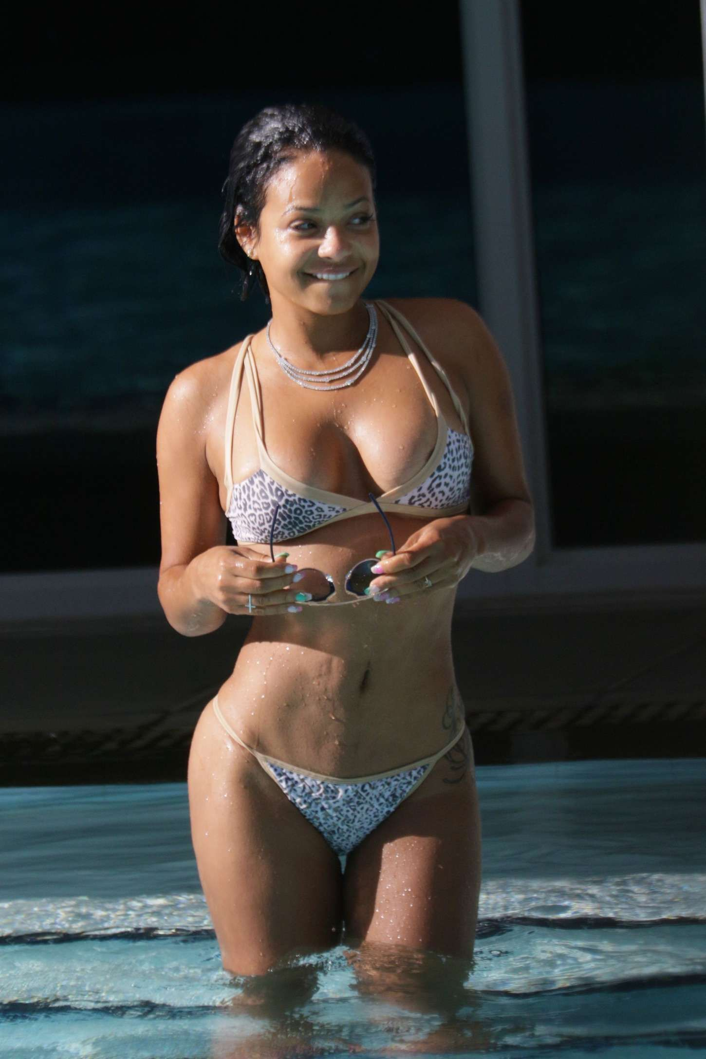 Milian bikini judge