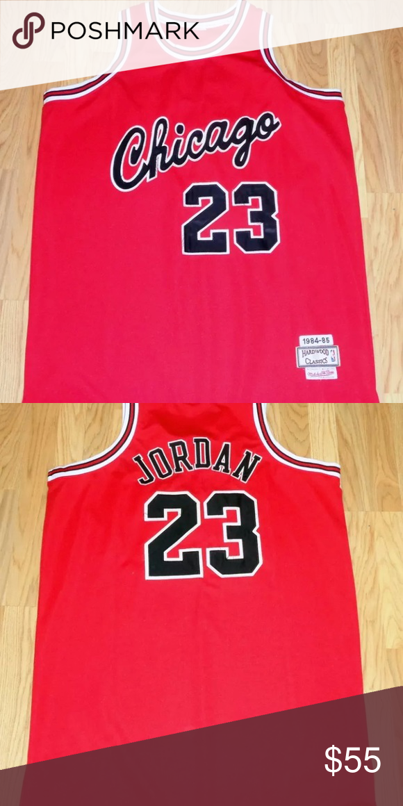 pretty nice 0b042 d9055 Michael Jordan rookie year jersey Mitchell and Ness mj ...