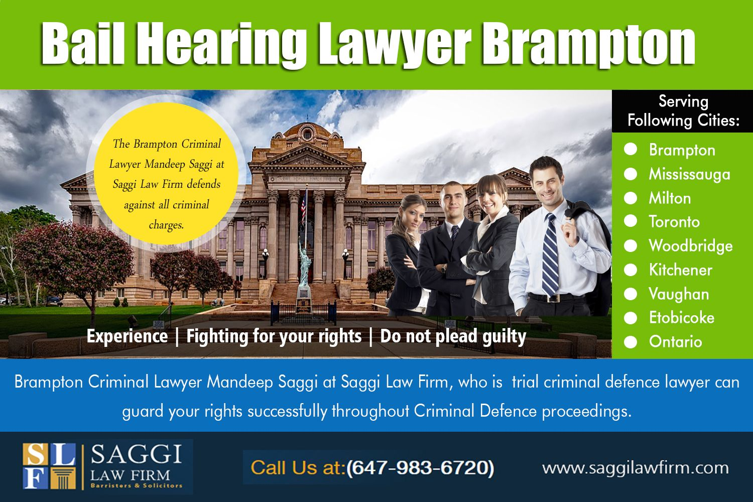 Other Services Brampton Trial Lawyer Bail