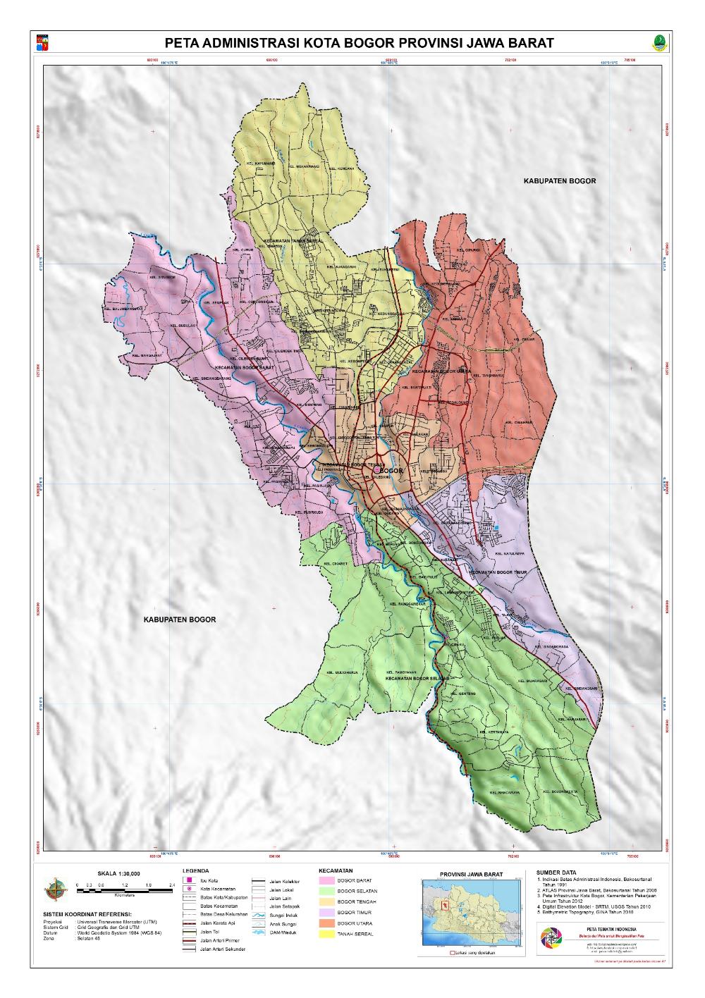 Pin Oleh Stephanus Bambang Siyamta Di Peta Wilayah