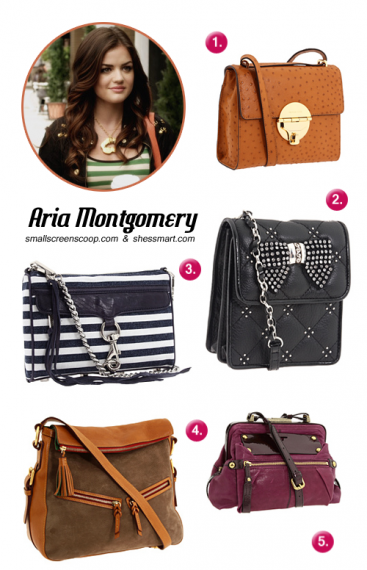 88b22185815 aria montgomery style | Accessories | Aria montgomery style, Purses ...