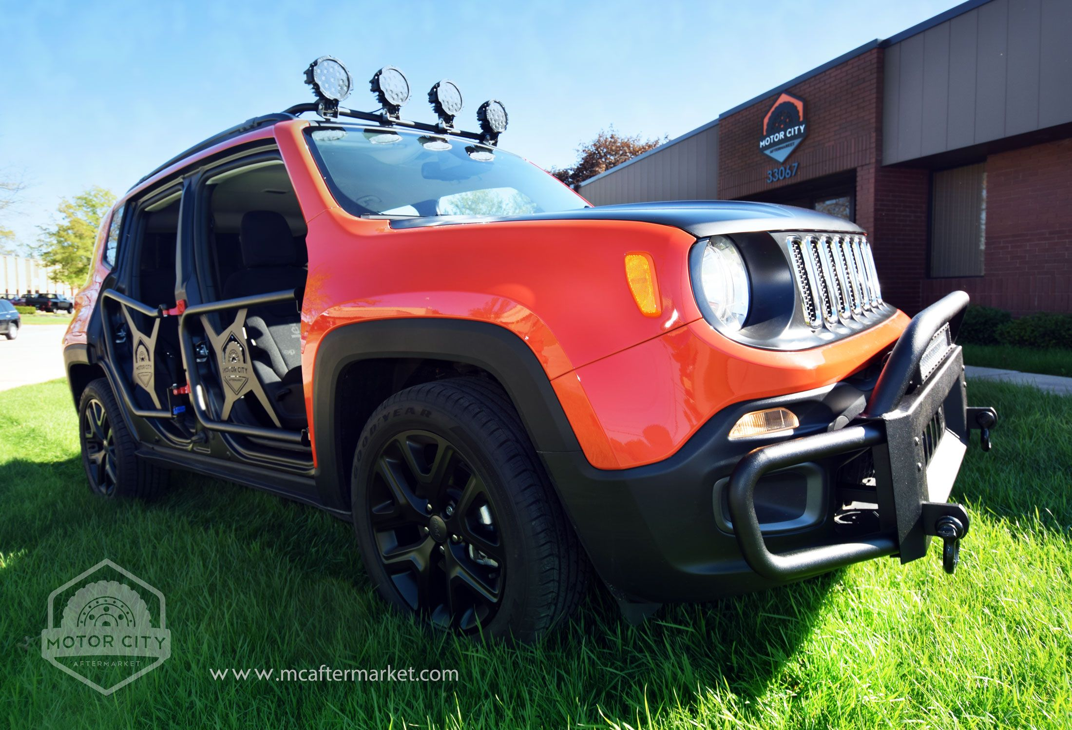 Sema Sneak Peek New Jeep Renegade Accessories With Images