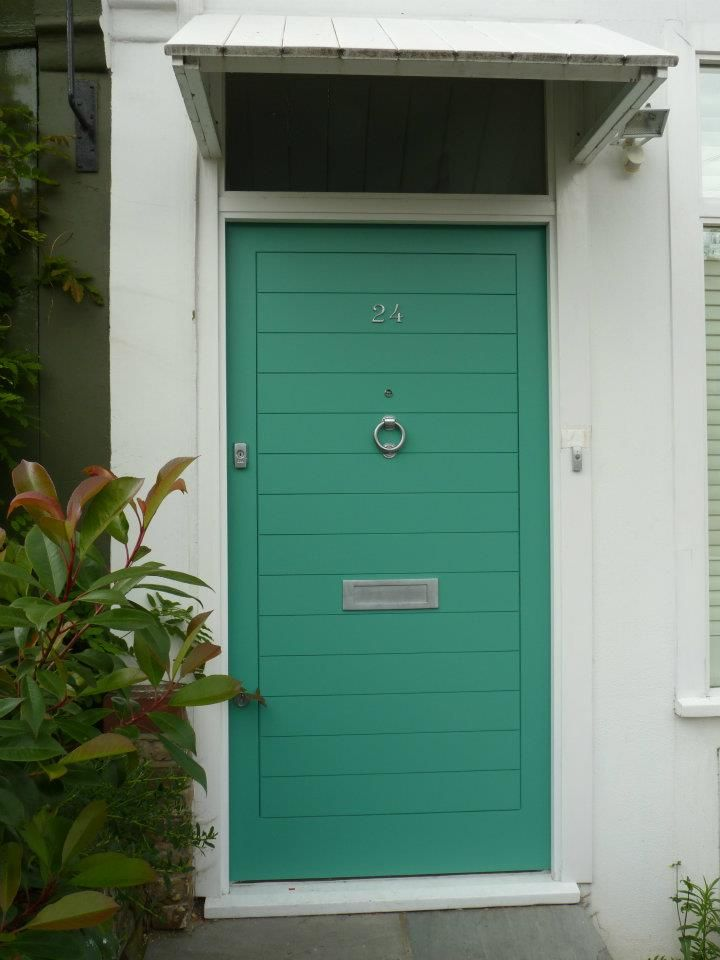 The London Door Company \'Green Ripple\' paint colour - Satin | The ...