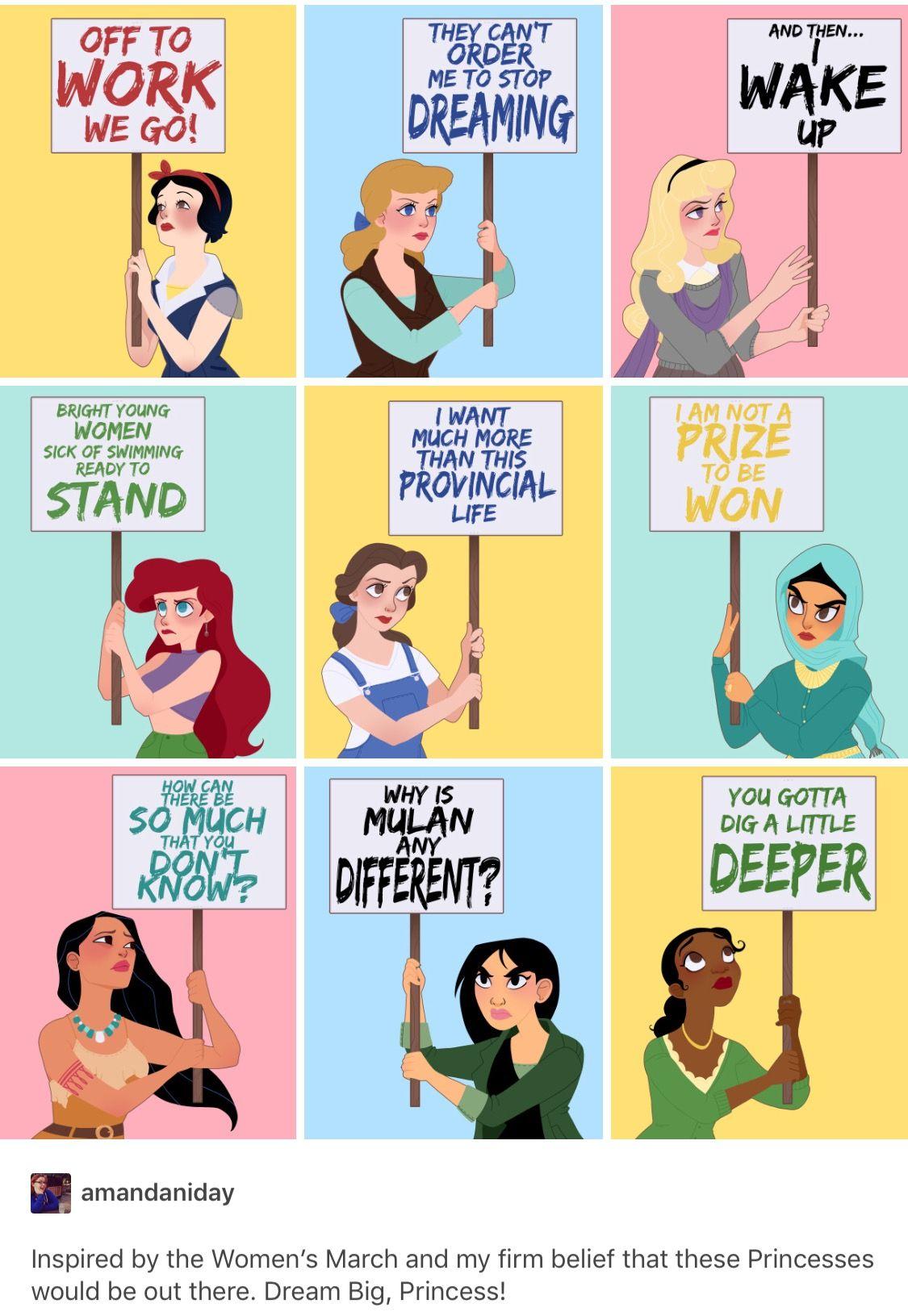Luego Dicen Que Las Princesas Disney No Son Feministas