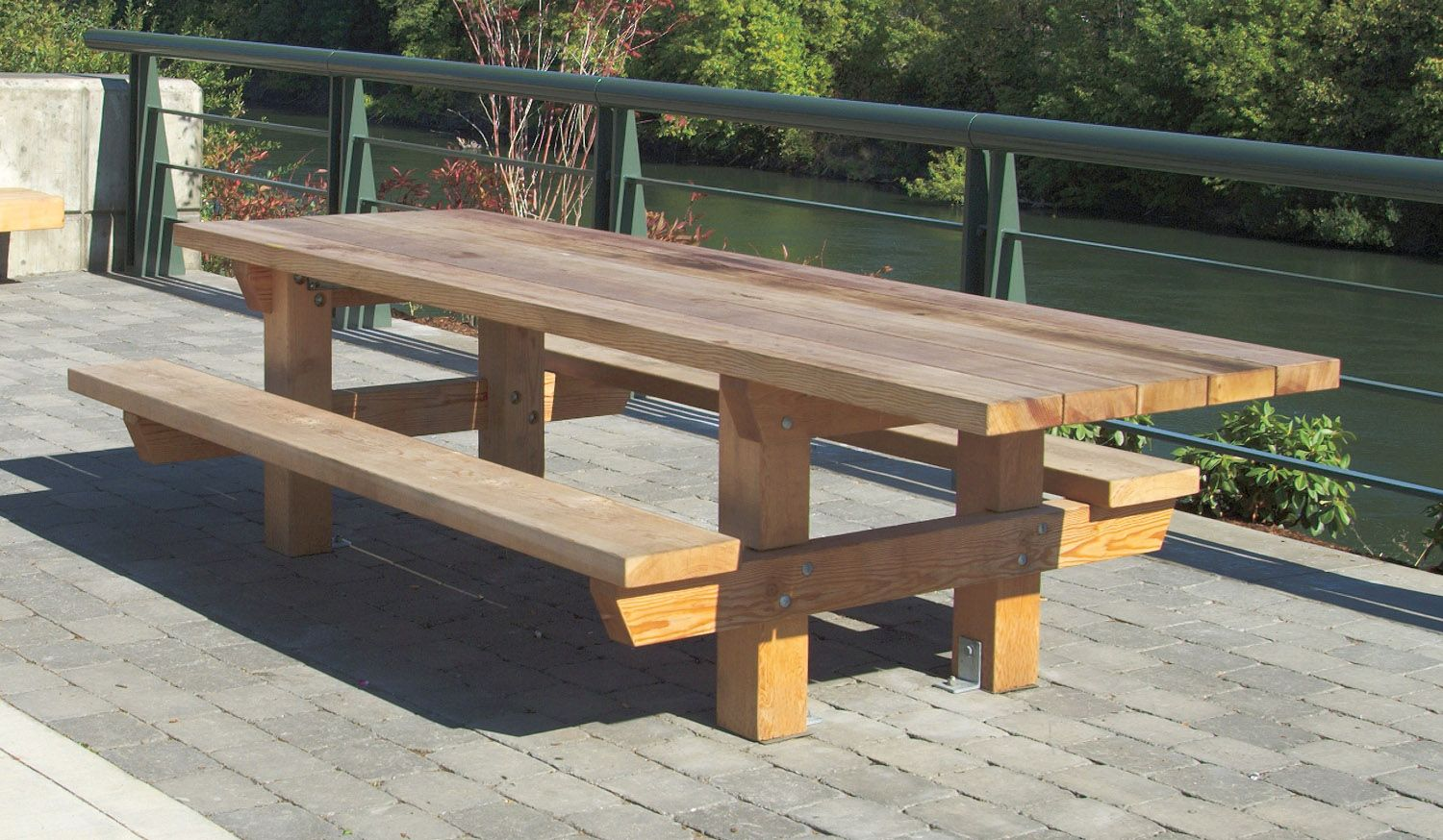 Picnic table designs 2167 accessible picnic table with for Table design outdoor