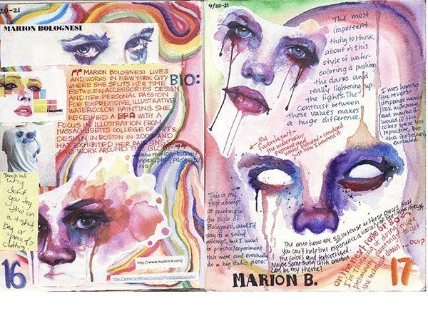 「sketchbook pages art」的圖片搜尋結果