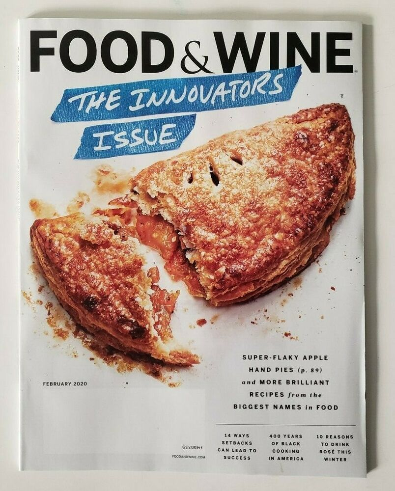 Details About Food Wine Magazine February 2020 The Innovators