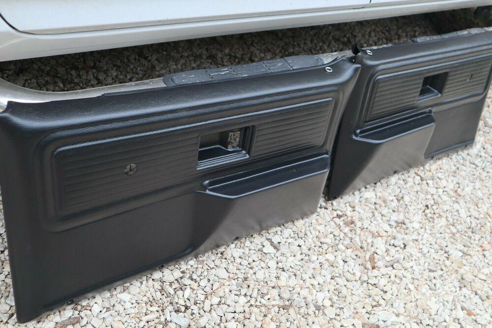 Front Door Panels Cheyenne Type 1977 1980 Chevy Full Size Pickup Ebay In 2020 Panel Doors Paneling Front Door