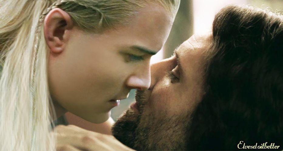 Aragorn / Legolas slash www.elvesdoitbetter.com (With ...