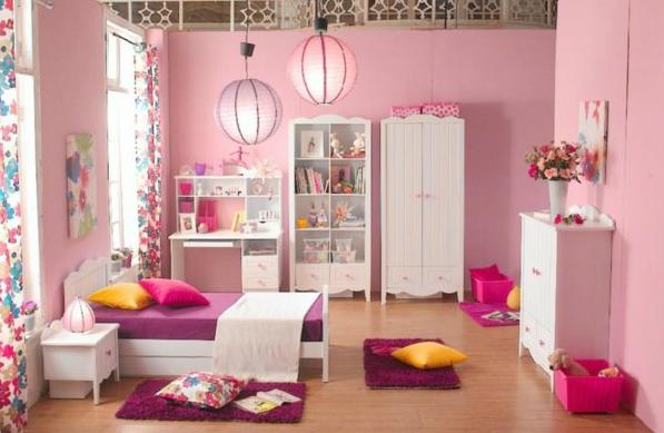 Kinderzimmer Farblich Gestalten Vorhandene Eigenschaft Größe Minimalist Um  Raum Und Wände Mit Rosa Ausgekleidet Speichern