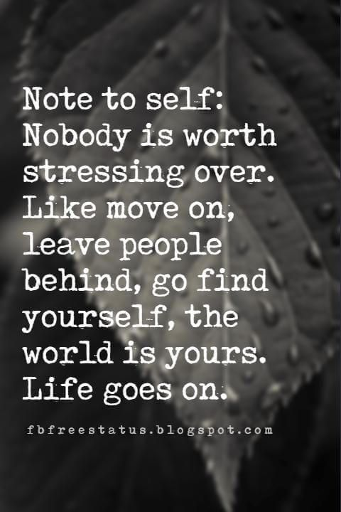 Quotes About Moving On And Letting Go Of Love And