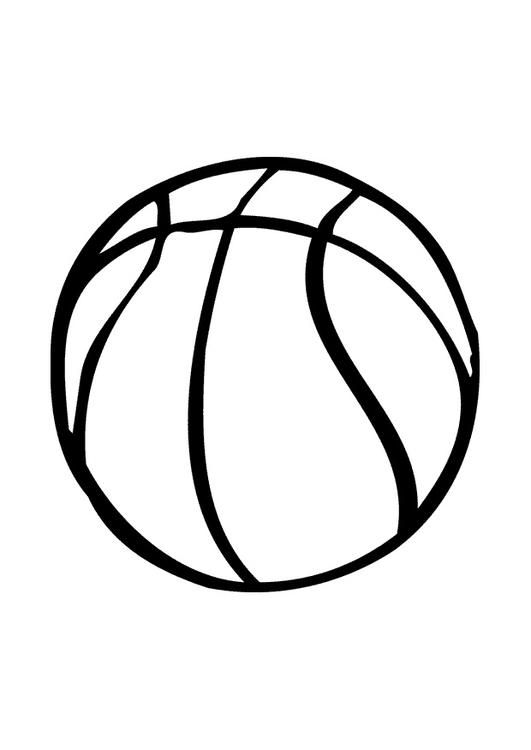 Coloring page basketball  coloring picture basketball Free