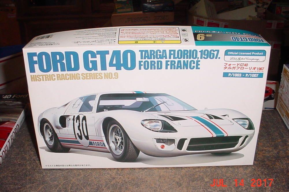 1967 Ford GT40 Targa Florio France #130 1/24 Fujimi 13134 #Fujimi