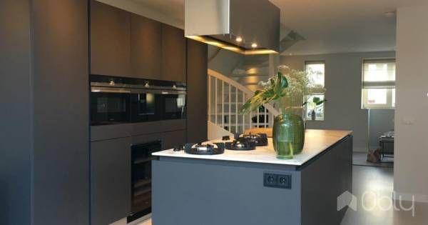 Donkere leicht keuken braak woning pinterest kitchen new