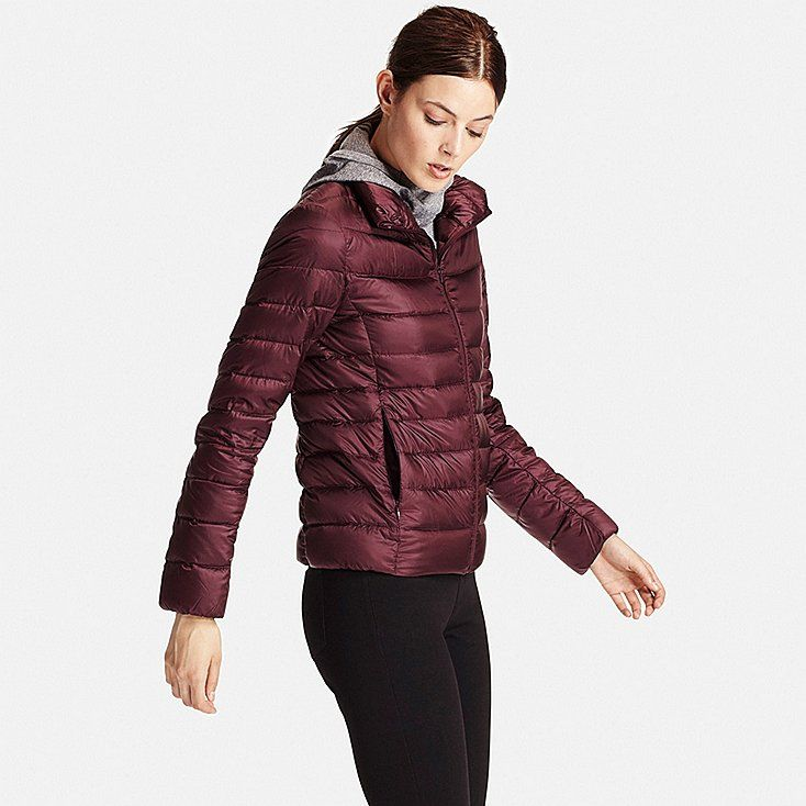 Women Ultra Light Down Jacket Gray Down Jacket Uniqlo Jackets Outdoor Outfit