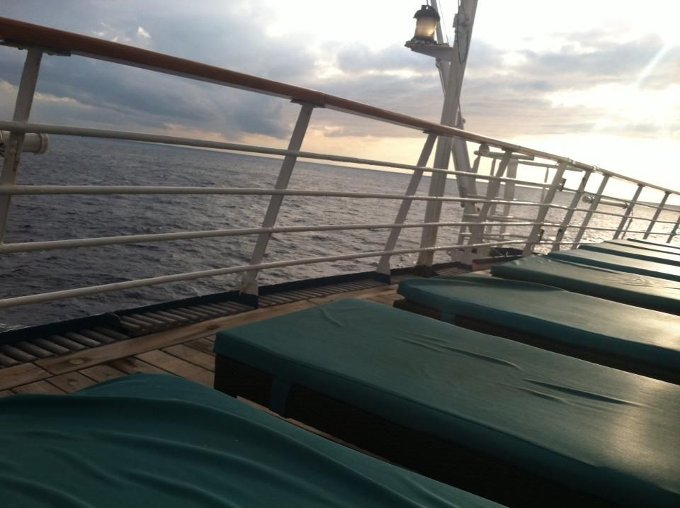 The Serenity Deck on the Carnival Fantasy Cruiseship!