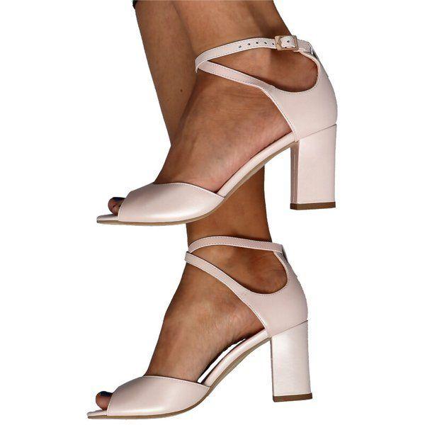 Kotyl 4343 Roz Perla Taneczne Sandalki Skora Buty Damskie Slubne Buty Damskie Obuwie Damskie Sandaly Buty Damskie Obuwie Damskie Shoes Heels Fashion
