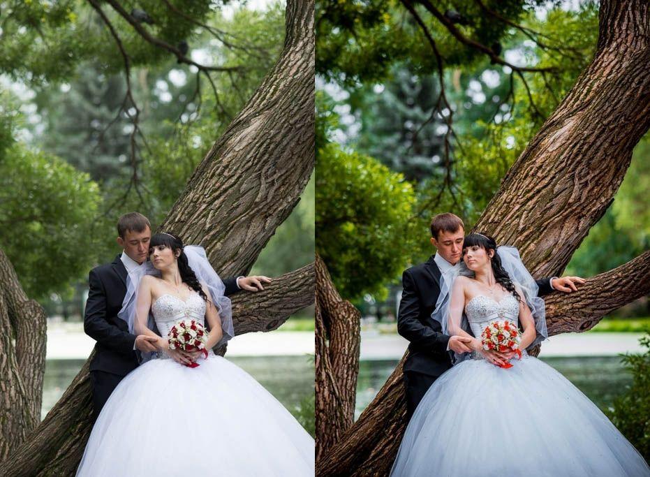 Пресет для свадебных фотографий