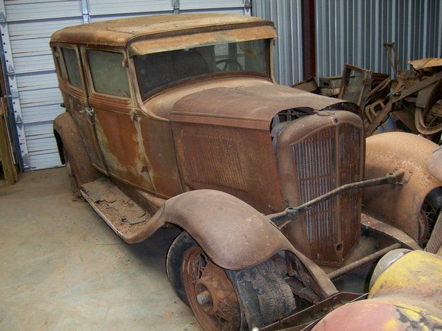 A Treasure Trove Of Classic Car Barn Finds In Oklahoma