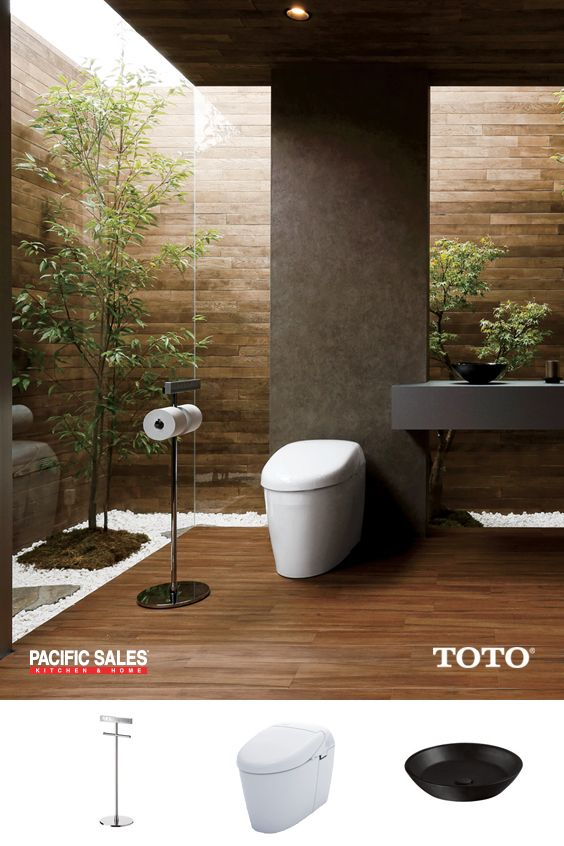 A lot of life happens in the bathroom. TOTO design simple, brilliant ...