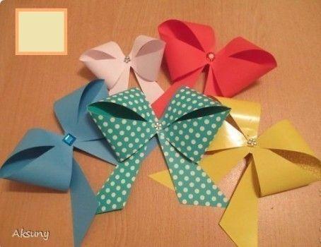 Papier Selber Machen papierschleifen basteln schleifen aus papier selber machen