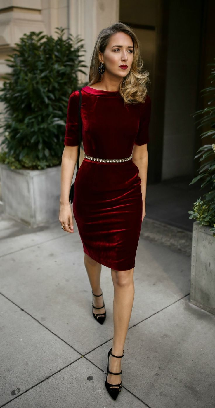 30 DRESSES IN 30 DAYS: Holiday Office Party, Cocktail Attire // Red ...