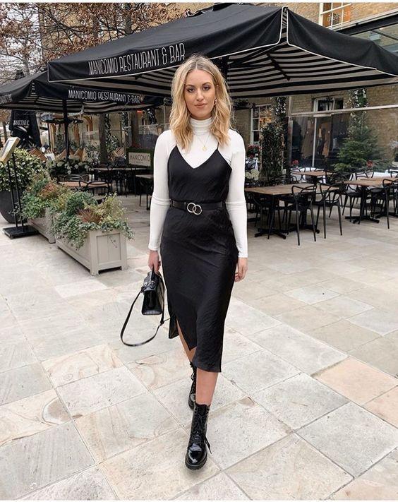 Photo of Natural silk slip dress black midi silk cami dress black silk chemise silk …