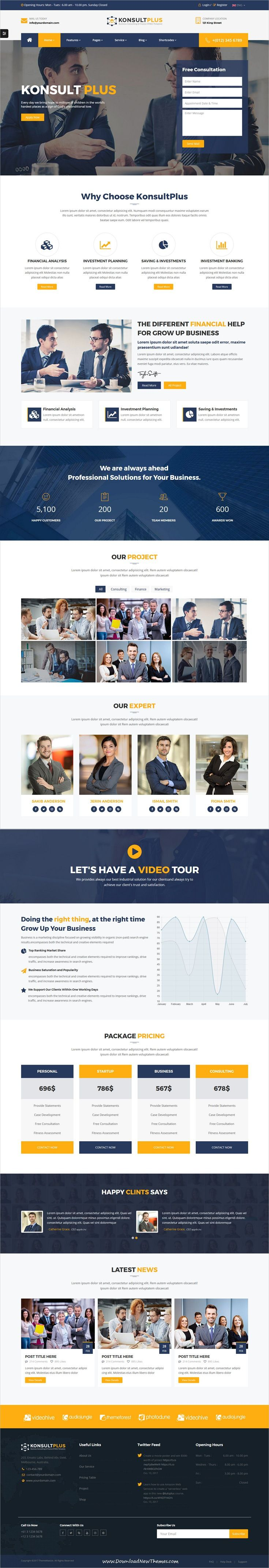 Consulting Finance Business - Consulting Plus