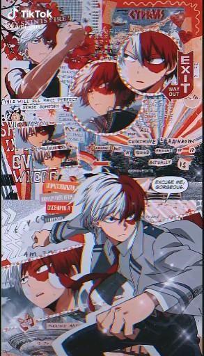 Todoroki My Hero Academia AMV Creator: kami_zuki from TikTok