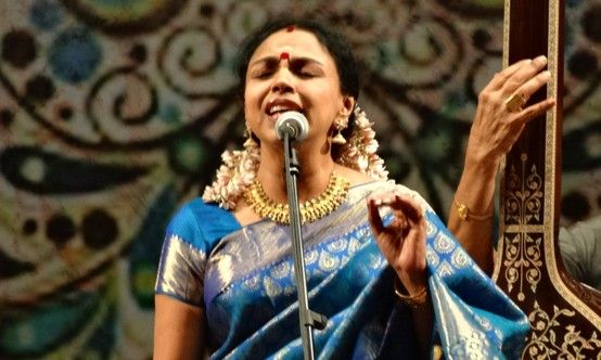 Sudha Raghunathan is a Carnatic music singer who is the disciple of