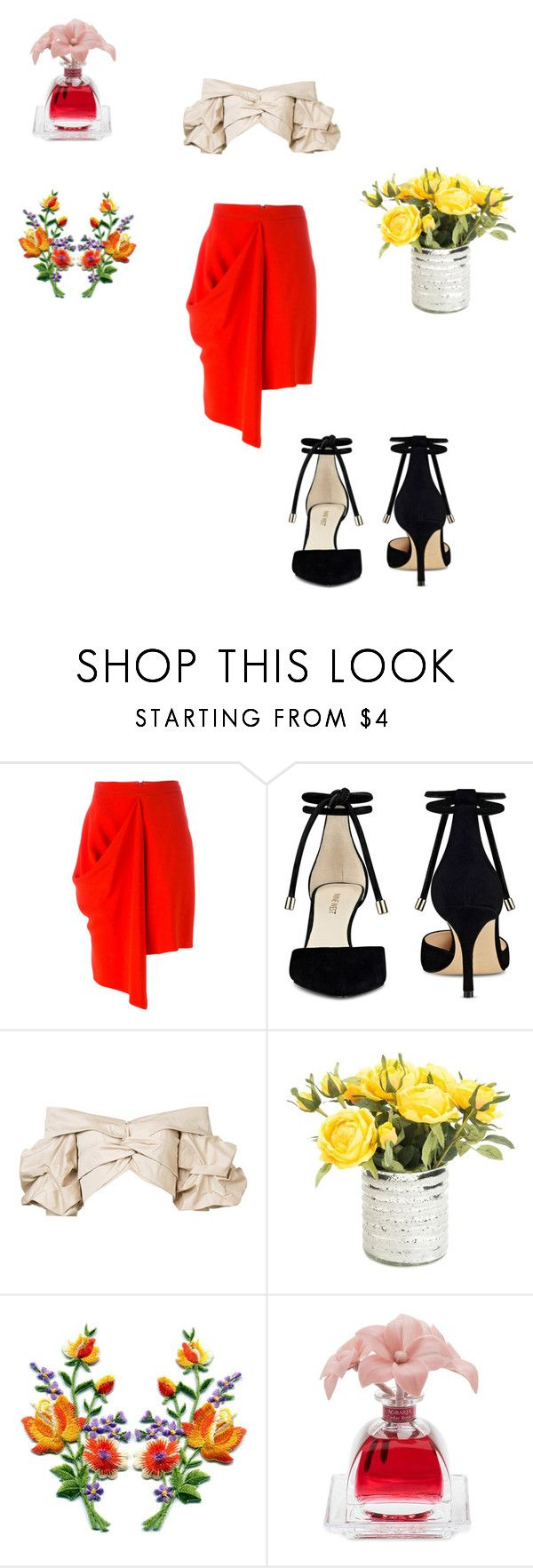 """""""May"""" by misslmos ❤ liked on Polyvore featuring STELLA McCARTNEY, Nine West, Johanna Ortiz and Agraria"""