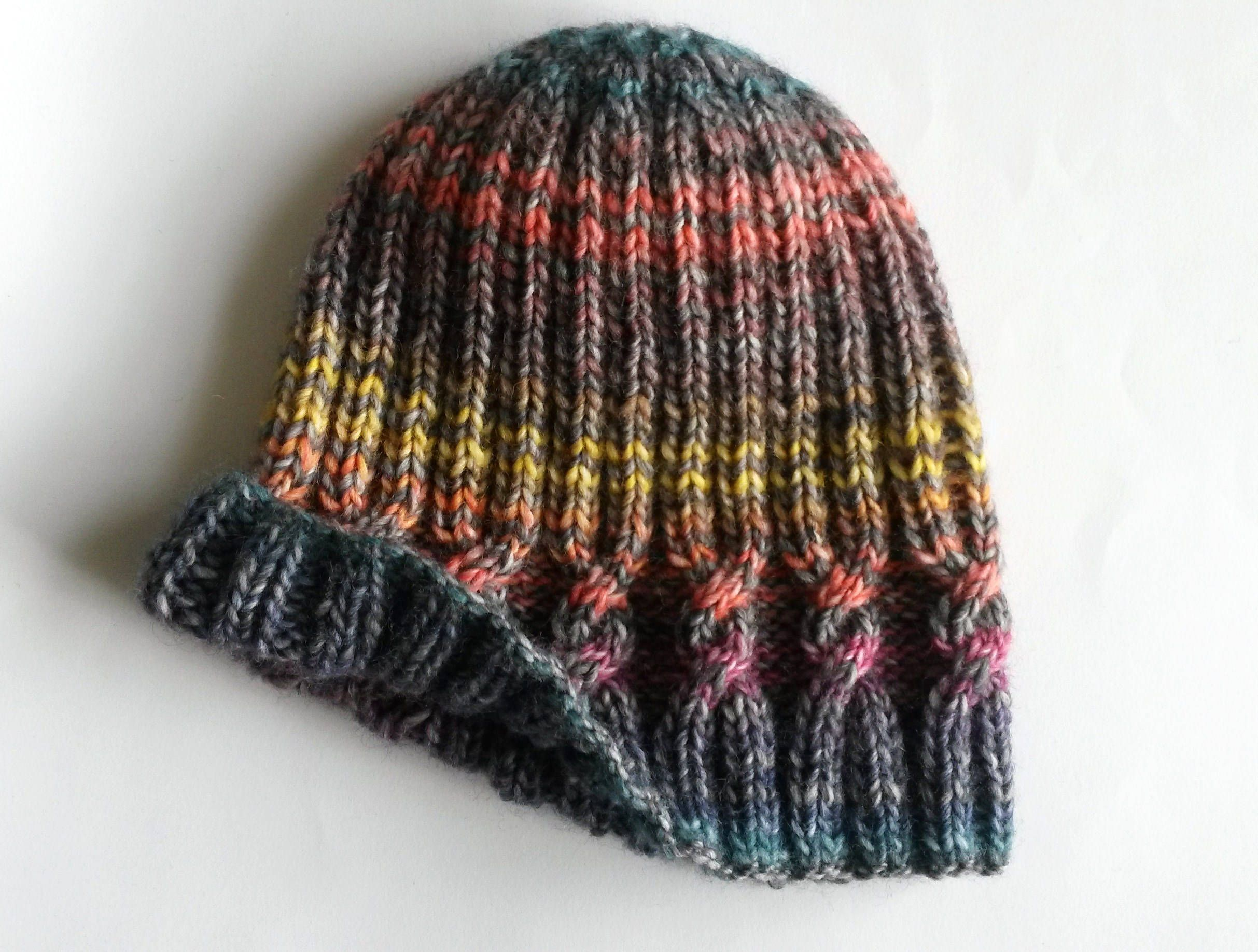 Knitting pattern: instant download pdf. This simple cable beanie is ...