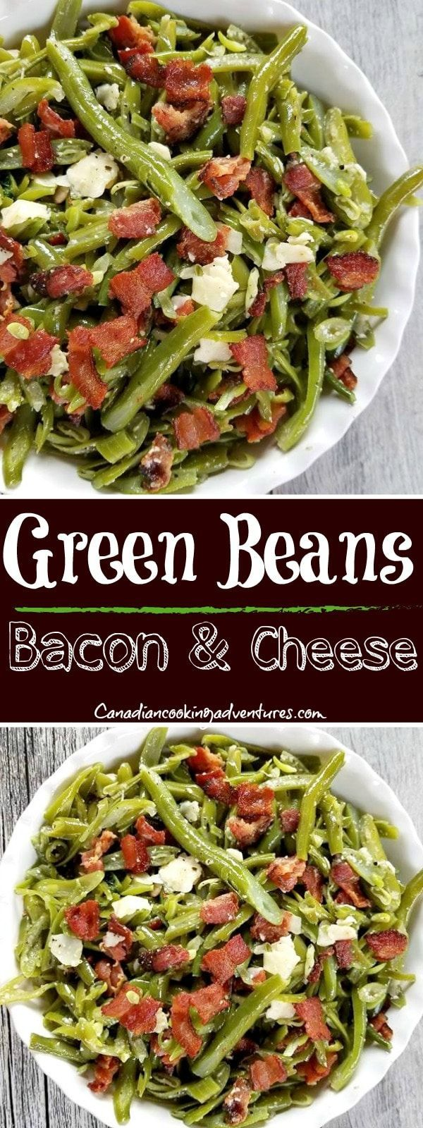 Green Beans with Bacon and Parmesan Cheese Green Beans with Bacon and Parmesan Cheese