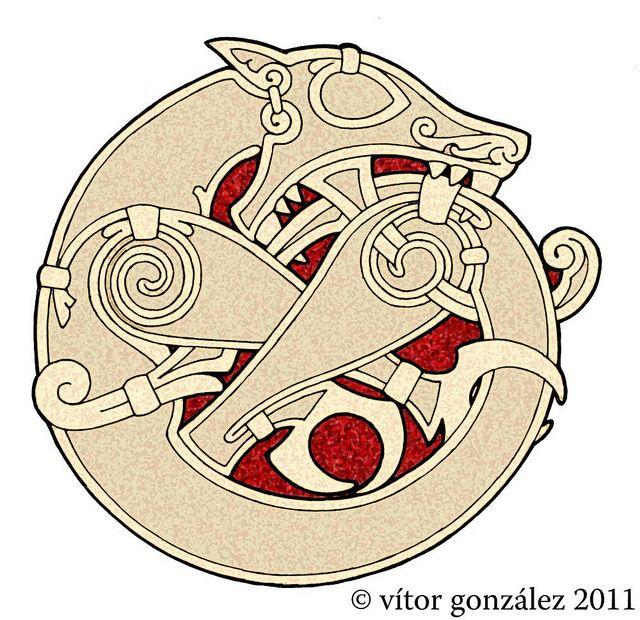Fenrir symbol - werewolf ancestry