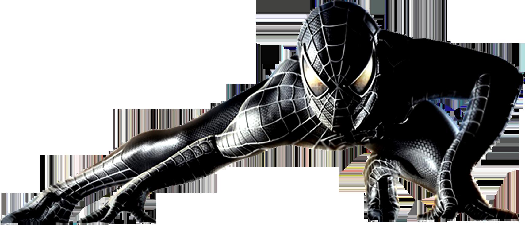 Download Black Spider Man Png Image For Free